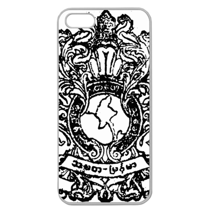 State Seal of Burma, 1948-1974 Apple Seamless iPhone 5 Case (Clear)