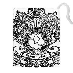 State Seal Of Burma, 1948 1974 Drawstring Pouches (xxl) by abbeyz71