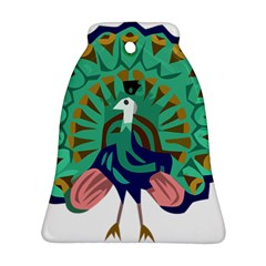 Burma Green Peacock National Symbol  Ornament (bell)