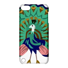 Burma Green Peacock National Symbol  Apple Ipod Touch 5 Hardshell Case With Stand by abbeyz71