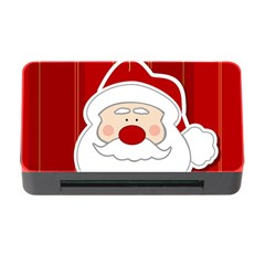 Santa Claus Xmas Christmas Memory Card Reader With Cf by Nexatart