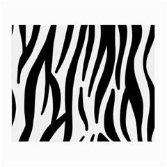 Seamless Zebra Pattern Small Glasses Cloth