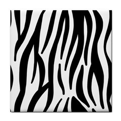 Seamless Zebra Pattern Face Towel