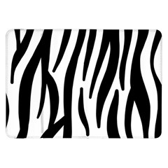 Seamless Zebra Pattern Samsung Galaxy Tab 8 9  P7300 Flip Case