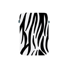 Seamless Zebra Pattern Apple Ipad Mini Protective Soft Cases by Nexatart