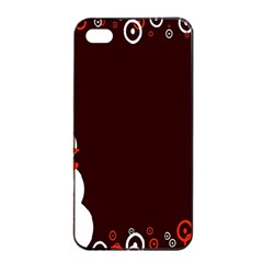 Snowman Holidays, Occasions, Christmas Apple Iphone 4/4s Seamless Case (black)