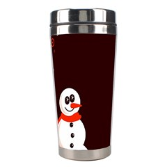 Snowman Holidays, Occasions, Christmas Stainless Steel Travel Tumblers by Nexatart