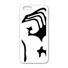 Skeleton Right Hand Fist Raised Fist Clip Art Hand 00wekk Clipart Apple Iphone 6/6s White Enamel Case by Foxymomma