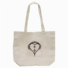 Audio Heart Tattoo Design By Pointofyou Heart Tattoo Designs Home R6jk1a Clipart Tote Bag (cream) by Foxymomma