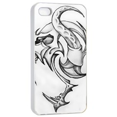 Tattoo Design 002 Apple Iphone 4/4s Seamless Case (white)