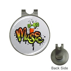 Graffiti Word Character Print Spray Can Element Player Music Notes Drippy Font Text Sample Grunge Ve Hat Clips With Golf Markers