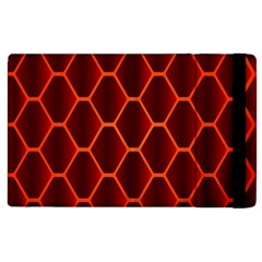Snake Abstract Pattern Apple Ipad 2 Flip Case by Nexatart