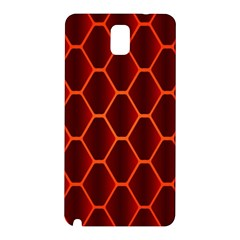 Snake Abstract Pattern Samsung Galaxy Note 3 N9005 Hardshell Back Case by Nexatart