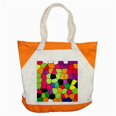 Stained Glass Abstract Background Accent Tote Bag by Nexatart