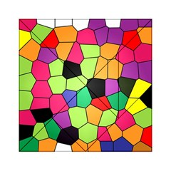 Stained Glass Abstract Background Acrylic Tangram Puzzle (6  X 6 )