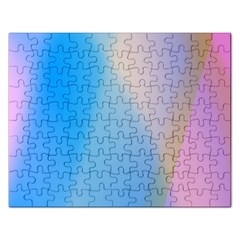 Twist Blue Pink Mauve Background Rectangular Jigsaw Puzzl