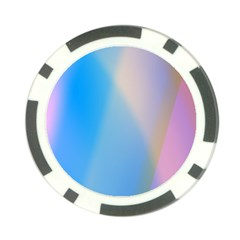 Twist Blue Pink Mauve Background Poker Chip Card Guard by Nexatart
