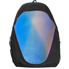 Twist Blue Pink Mauve Background Backpack Bag by Nexatart