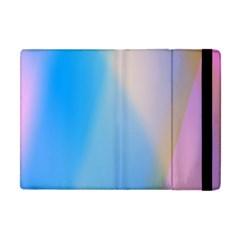 Twist Blue Pink Mauve Background Apple Ipad Mini Flip Case by Nexatart