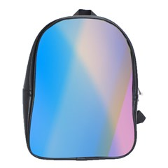 Twist Blue Pink Mauve Background School Bags (xl)