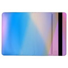 Twist Blue Pink Mauve Background iPad Air 2 Flip