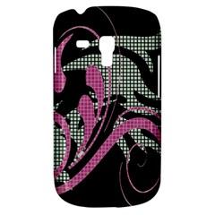 Violet Calligraphic Art Galaxy S3 Mini