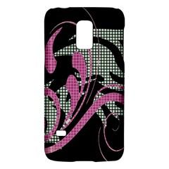Violet Calligraphic Art Galaxy S5 Mini by Nexatart