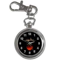 Strawberry Key Chain Watches by Nexatart