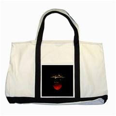 Strawberry Two Tone Tote Bag