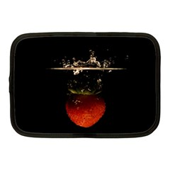 Strawberry Netbook Case (medium)  by Nexatart