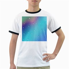 Water Droplets Ringer T Shirts