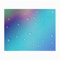 Water Droplets Small Glasses Cloth (2 Side)