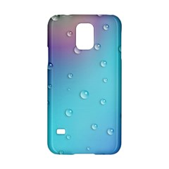 Water Droplets Samsung Galaxy S5 Hardshell Case