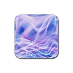 Abstract Graphic Design Background Rubber Square Coaster (4 Pack)