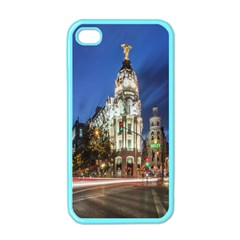 Architecture Building Exterior Buildings City Apple Iphone 4 Case (color)