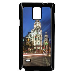 Architecture Building Exterior Buildings City Samsung Galaxy Note 4 Case (black)