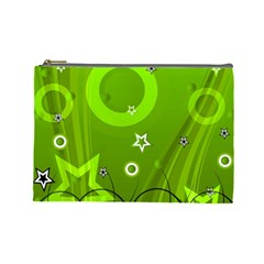 Art About Ball Abstract Colorful Cosmetic Bag (large)  by Nexatart