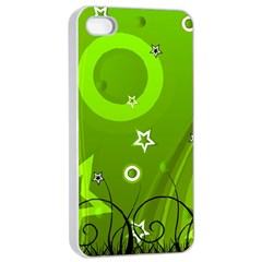 Art About Ball Abstract Colorful Apple Iphone 4/4s Seamless Case (white)