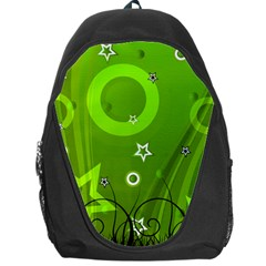 Art About Ball Abstract Colorful Backpack Bag by Nexatart