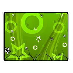 Art About Ball Abstract Colorful Double Sided Fleece Blanket (small)
