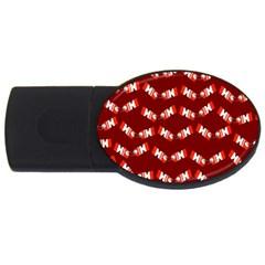 Christmas Crackers Usb Flash Drive Oval (4 Gb)