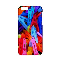 Clothespins Colorful Laundry Jam Pattern Apple Iphone 6/6s Hardshell Case