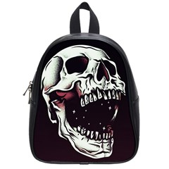Death Skull School Bags (small)  by Nexatart