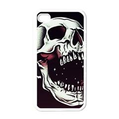 Death Skull Apple Iphone 4 Case (white)