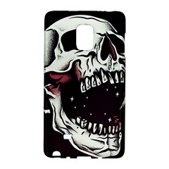 Death Skull Galaxy Note Edge by Nexatart
