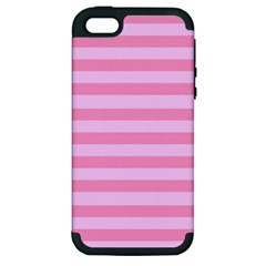 Fabric Baby Pink Shades Pale Apple Iphone 5 Hardshell Case (pc+silicone)