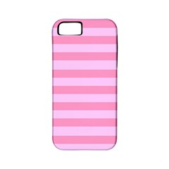 Fabric Baby Pink Shades Pale Apple Iphone 5 Classic Hardshell Case (pc+silicone)