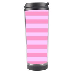 Fabric Baby Pink Shades Pale Travel Tumbler