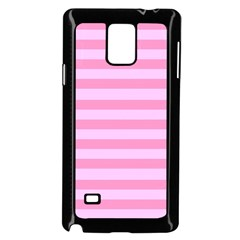 Fabric Baby Pink Shades Pale Samsung Galaxy Note 4 Case (black)