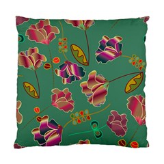 Flowers Pattern Standard Cushion Case (two Sides)